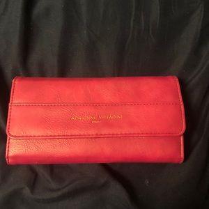 Hot pink Adrienne Vittadini wallet